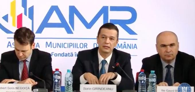 Premierul Grindeanu la Adunarea Generală a AMR: Vom iniția dezbateri regionale pe tema proiectelor de dezvoltare