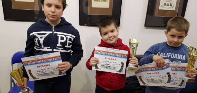 """Locul 1 la """"Cupa Tarnava"""" pentru Șah Club Potaissa Turda"""