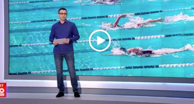 VIDEO: Maratonul de înot de la Turda în presa națională: