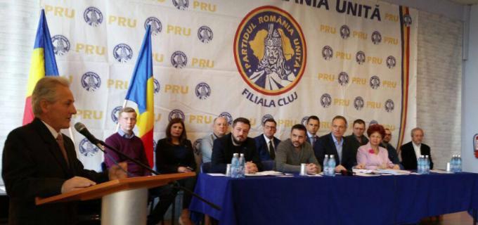 PRU Cluj face un apel către toate forţele naţional-democratice din România