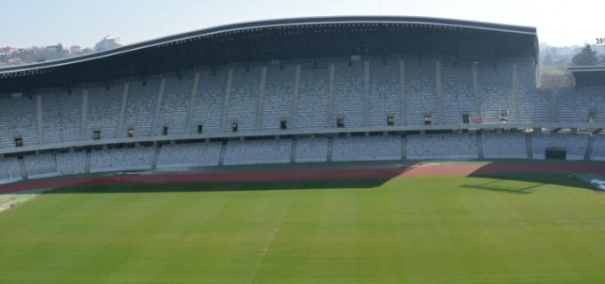 Vezi care este situația gazonului de pe Cluj Arena cu doar patru zile înaintea meciului dintre România și Danemarca