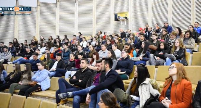 """VIDEO/Foto: Proiect educațional în mina Rudolf din Salina Turda – """"Cunoaste si protejeaza patrimoniul cultural national"""""""