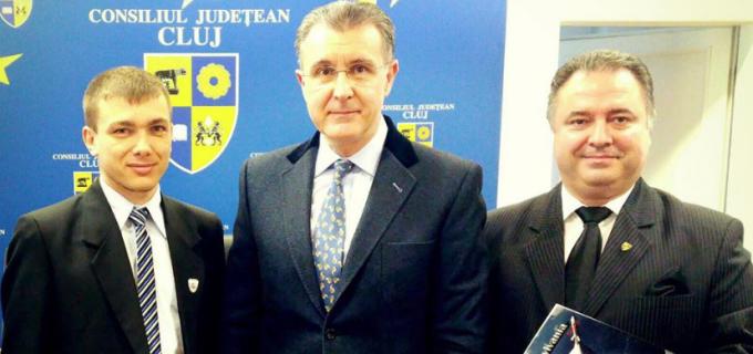 Róbert Szabó a reprezentat municipiul Câmpia Turzii la Consiliul Județean Cluj, cu ocazia vizitei de lucru a Alteței Sale Regale, Principele Radu.