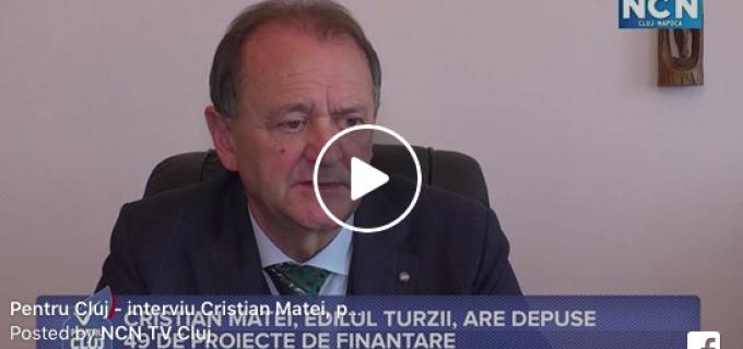 NCN TV Cluj: Cristian Matei, edilul Turzii, a depus 49 de proiecte de finantare
