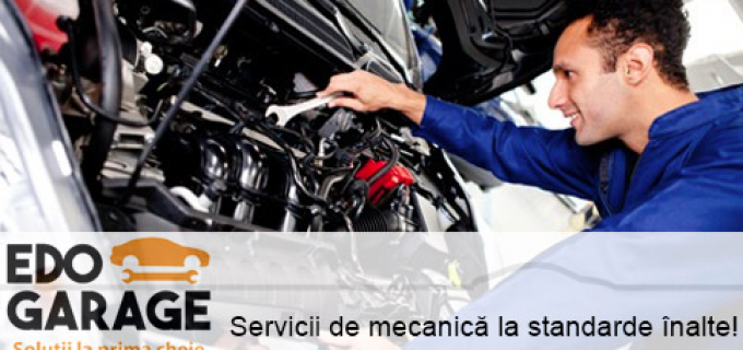 EDO Garage oferă cele mai bune servicii de mecanică auto!