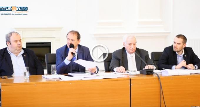 VIDEO: Discuții aprinse pe seama bugetului în Consiliul Local Turda