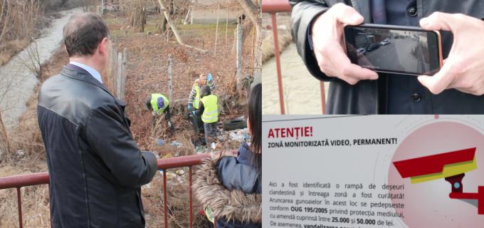 VIDEO/Foto: La Turda a început curățenia generală! Toate zonele sunt monitorizate video permanent