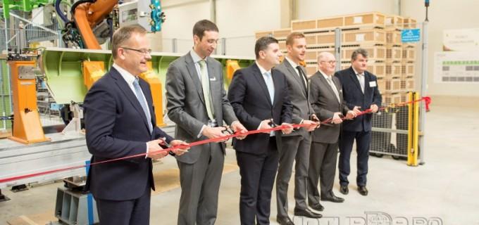 VIDEO: SONACA a inaugurat fabrica de la Moldovenești, județul Cluj.