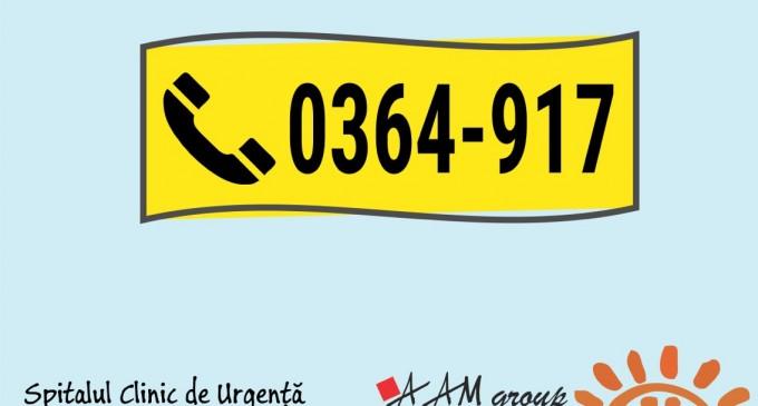 Creștere constantă a numărului de părinți care apelează serviciul gratuit de sfat medical telefonic ALOPEDI