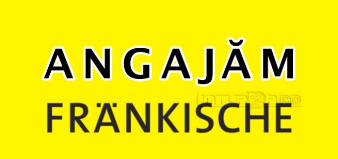 Frankische angajează ELECTRICIAN AUTOMATIST