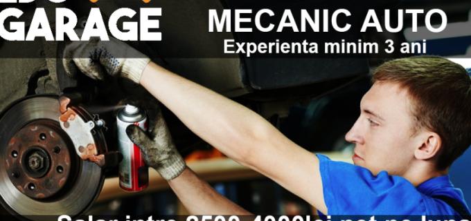 EDO Garage angajează mecanic auto cu experienta minim 3 ani!