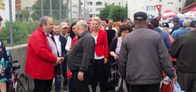 """Petre Pop: """"În 2016, în piețele din Câmpia Turzii s-au vândut 90 de tone de produse lactate românesti 100%"""""""