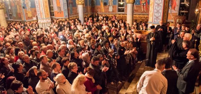 VIDEO: Concert de Pricesne la Biserica Învierea Domnului din Micro III