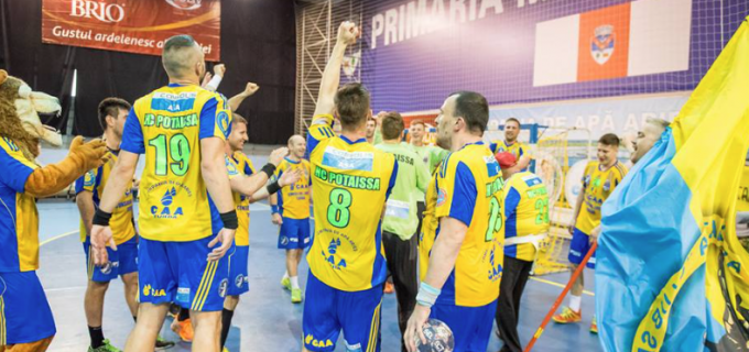 """Magnificii de la Potaissa Turda au reușit o """"remontada"""" fenomenală și s-au calificat în finala Challenge Cup"""