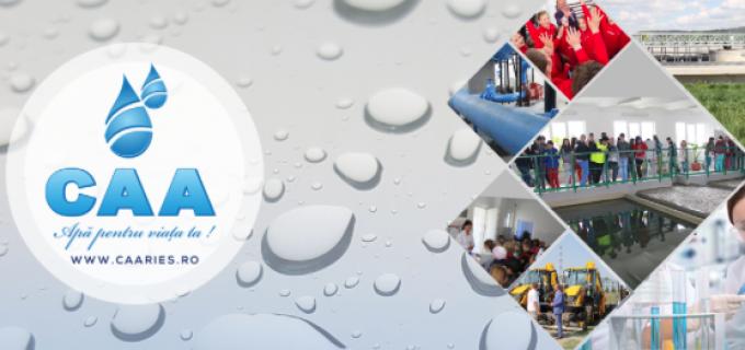 CAA a demarat prima licitație aferentă ,,Proiectului regional de dezvoltare a infrastructurii de apă și apă uzată în regiunea Turda – Câmpia Turzii, în perioada 2014-2020'' a fost demarată