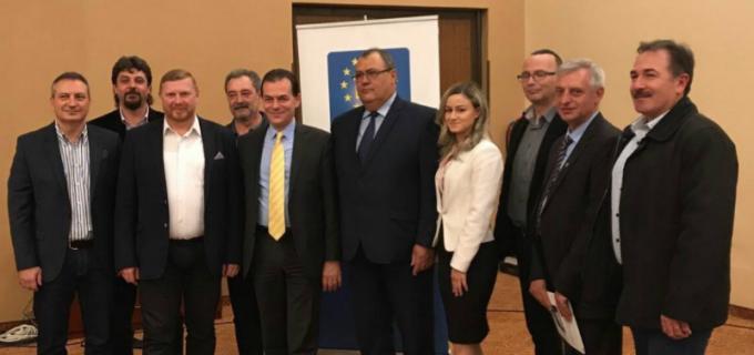PNL Câmpia Turzii a devenit un pol liberal important în județul Cluj. Dorin Lojigan și Cristian Haiduc aleși vicepreședinți la nivel județean