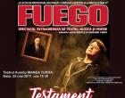 FUEGO vine la Turda cu un spectacol de teatru, muzică și poezie