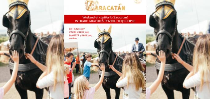 Weekendul copiilor la Zaracatan! Intrarea gratuită la show-ul de echitație marca Salina Equines!