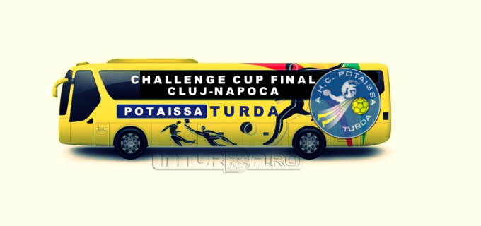 AHC Potaissa Turda asigură transportul suporterilor la Finala Challenge Cup