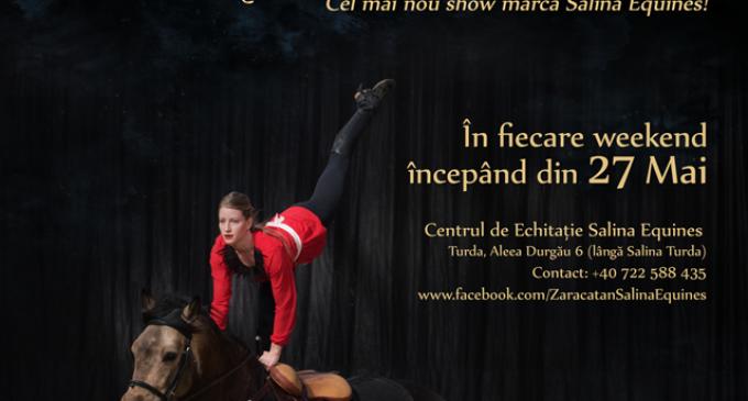 Salina Equines lansează show-ul de echitație Zaracatan!