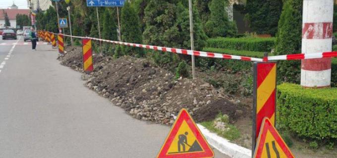 Zona centrală a municipiului Câmpia Turzii își va schimba total aspectul