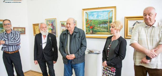 VIDEO/Foto: Vernisajul expozitiei de pictura ACORDURI CROMATICE DE MAI