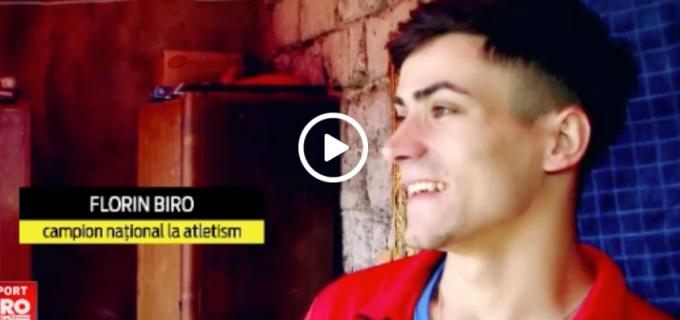 VIDEO – Povestea campionului Turdean, Florin Biro, la Sport.ro: A învins greutătile îainte să-și învingă adversarii