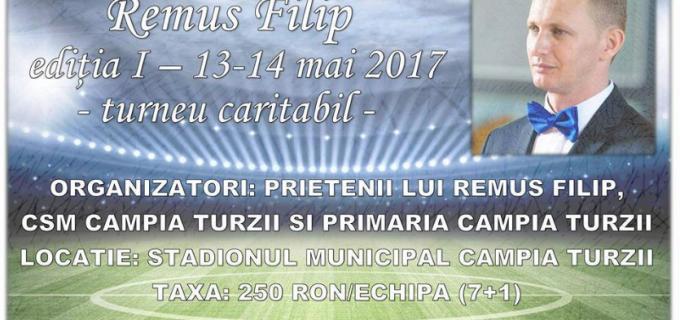 """În acest weekend va avea loc prima ediție a turneului caritabil de fotbal """"Memorialul REMUS FILIP"""""""