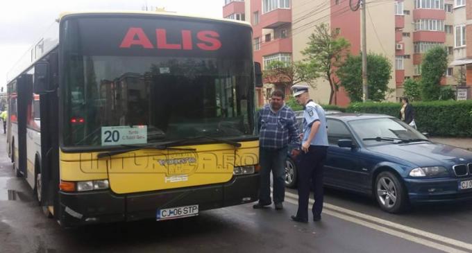 VIDEO: Accident în zona Materna. Victima a traversat neregulamentar drumul