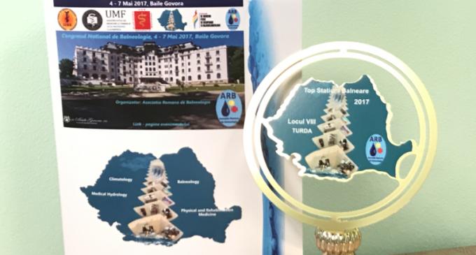 Salina Turda a fost premiată la Congresul National de Balneologie de la Băile Govora