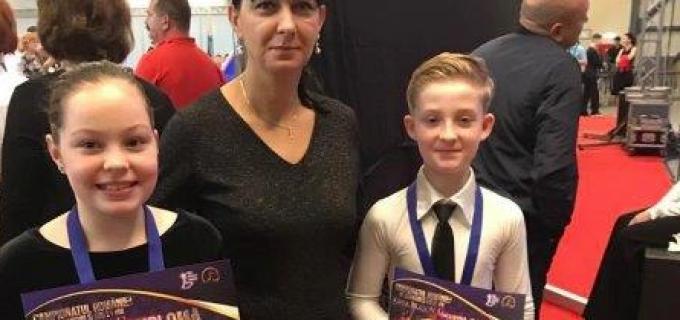 Clubul de Dans Sportiv Potaissa Turda a cucerit 2 medalii la Cupa Brașov