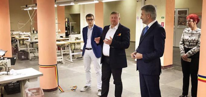 Jolidon International a inaugurat sectia de productie de la Câmpia Turzii. Vezi câte locuri de muncă vor fi disponibile