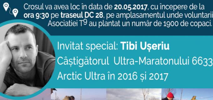 """Tibi Useriu, câștigătorul Ultra-Maratonului 6633 Arctic Ultra, va participa la crosul caritabil """"Salveaza o viată"""""""
