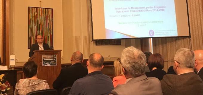 """Compania de Apă Arieș – exemplu de bune practici în accesarea și implementarea de proiecte finanțate din fonduri europene  la """"Forumul Regional al Apei Dunăre – Europa de Est 2017"""""""