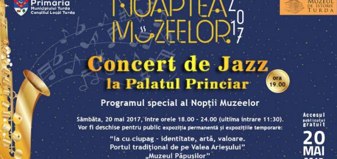 Concert de Jazz la Palatul Princiar Turda cu ocazia Nopții Muzeelor