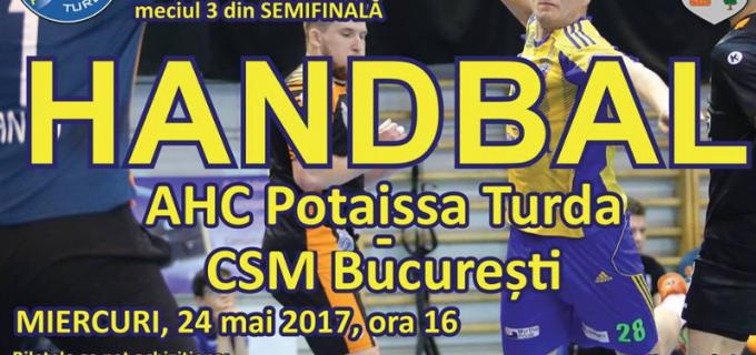 Jucătorii au nevoie de sprijinul suporterilor în meciul care decide finalista Ligii Zimbrilor: Potaissa Turda vs. CSM București