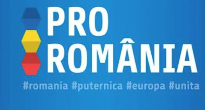 Pro România Cluj îndeamnă parlamentarii județului Cluj de a nu vota moțiunea de cenzură