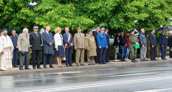"""Programul ceremonialului militar – religios organizat joi, 17 mai 2018, cu ocazia sărbătoririi """"Zilei Înăltării Domnului şi a Eroilor Neamului"""""""
