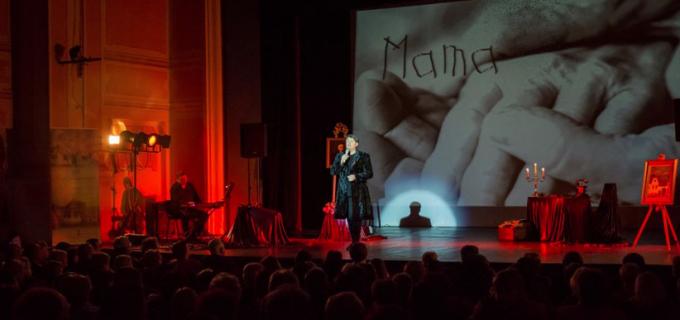 "VIDEO/Foto: Turdeanul FUEGO la Teatrul ""Aureliu Manea"" Turda cu spectacolul ""Testament"""