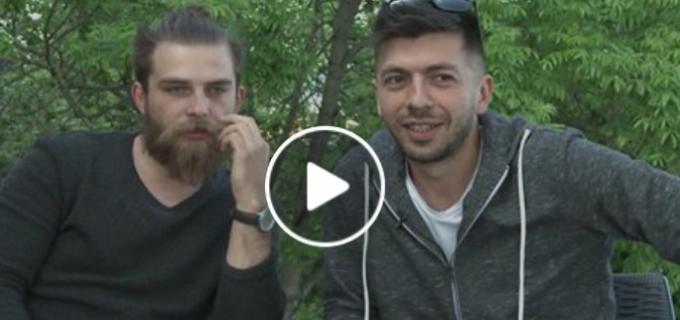 """VIDEO: Valentin Oncu, actor al Teatrului """"Aureliu Manea"""" din Turda, alături de Mircea Bravo"""