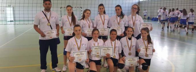 Sportivele de la C.S.S Turda Volei sunt vicecampioane naționale