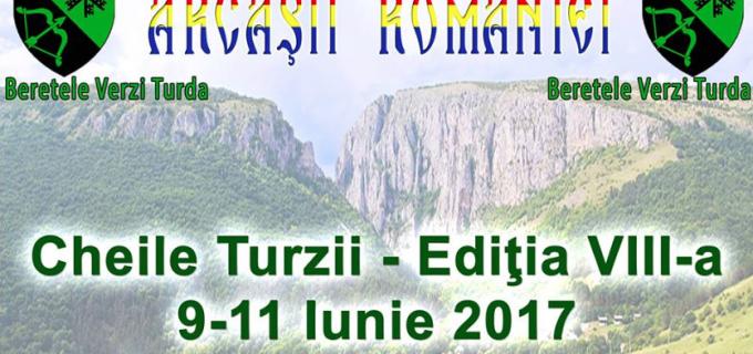 Arcașii României vin la Cheile Turzii. Beretele Verzi Turda au pregătit un spectacol pe cinste