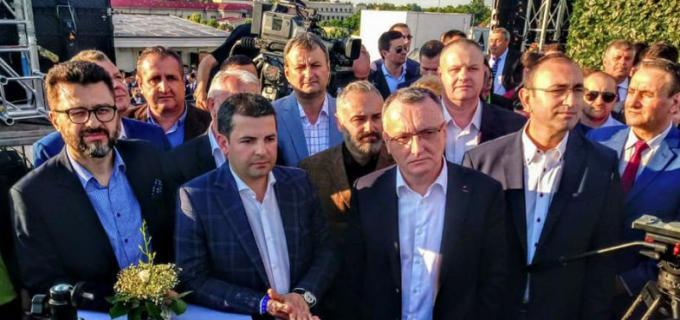 """Daniel Constantin la lansarea partidului PRO România: """"Vrem să dovedim că facem un proiect politic în care interesul public să primeze"""""""