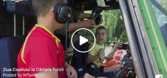 VIDEO: Ziua Copilului a debutat într-un mod inedit la Câmpia Turzii