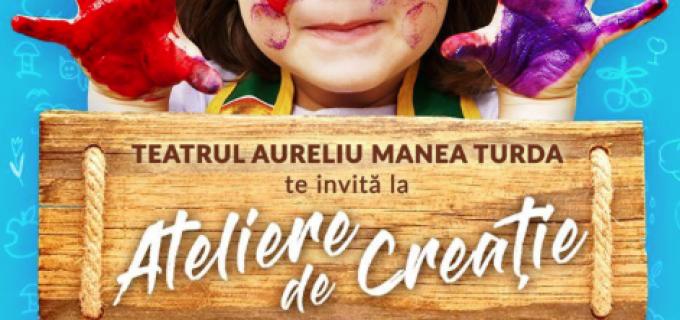 """Ateliere de creație la Teatrul """"Aureliu Manea"""" Turda"""