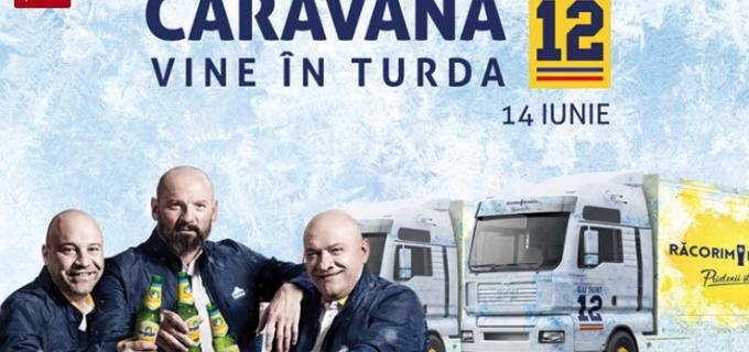 """Caravana """"Eu sunt 12"""" vine în Turda în 14 iunie!"""