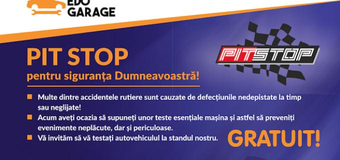 EDO Garage aduce caravana Pitstop la Turda, Sâmbătă 17 Iunie 2017!