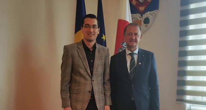 Președintele Federației Române de Fotbal, Răzvan Burleanu, a fost prezent la Turda