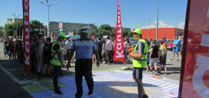 Două săptămâni de educație rutieră la Școala Gimnazială ,, Teodor Murășanu '', în cadrul proiectului național inițiat de United Way Romania