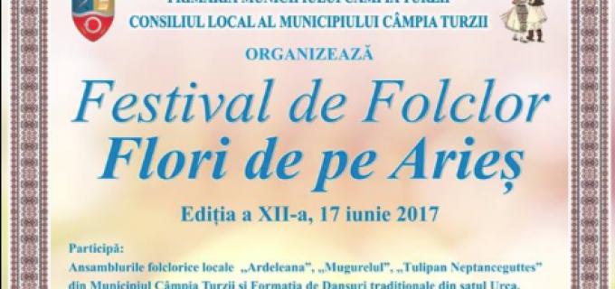 """ANUNȚ important: Modificarea locației spectacolului de gală al Festivalului de Folclor """"Flori de pe Arieș"""""""
